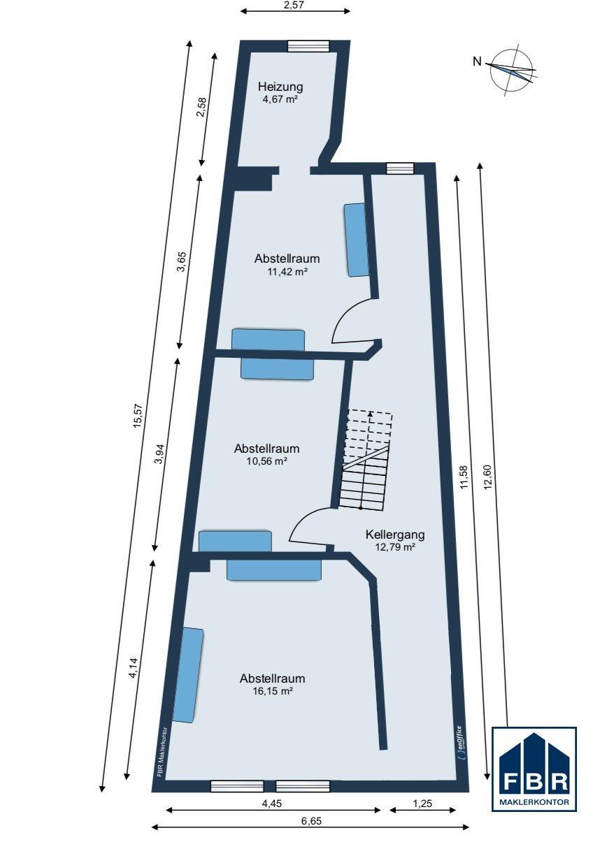 Möbliervorschlag Kellergeschoss