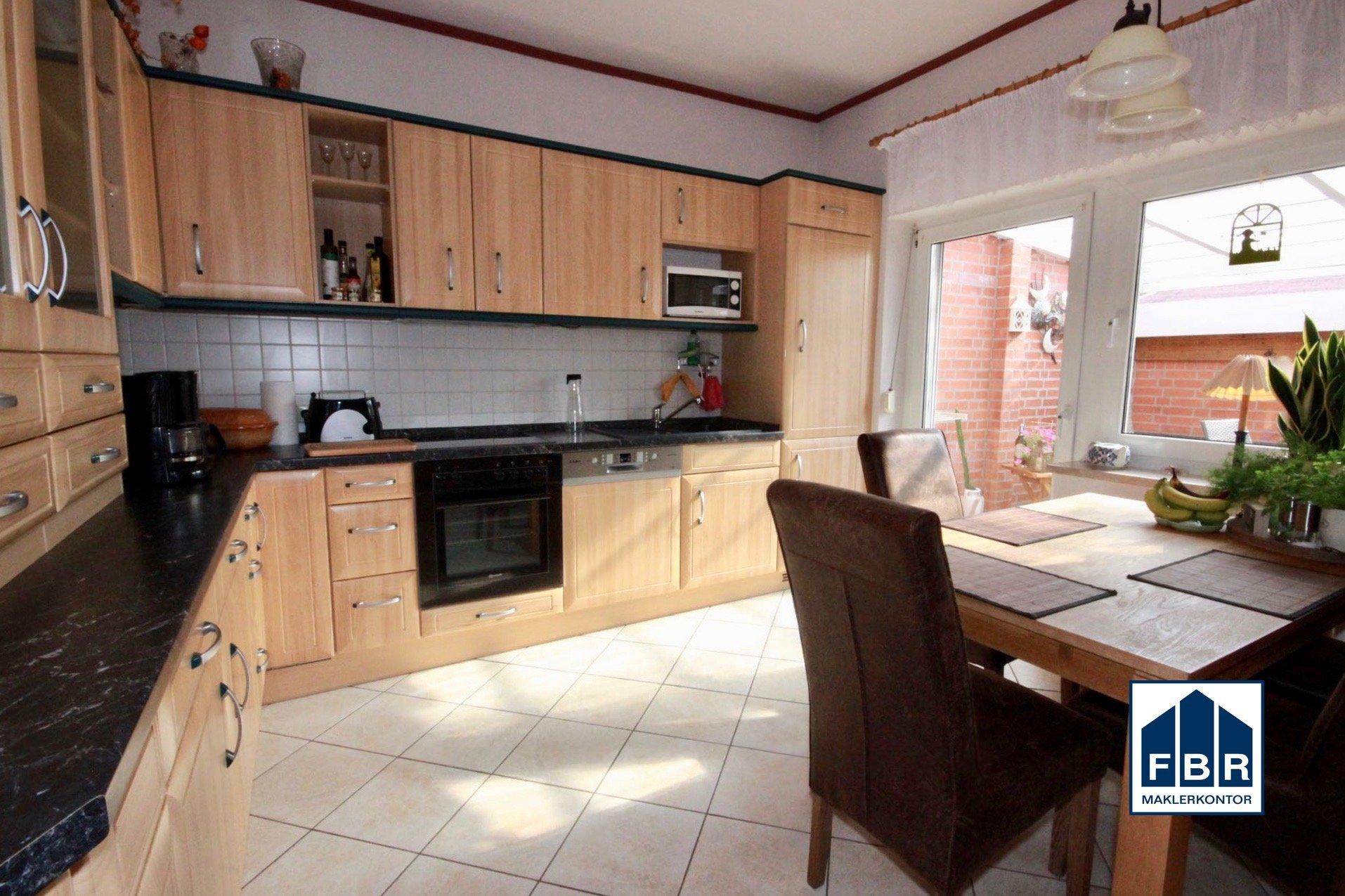 Küche - Zugang Terrasse