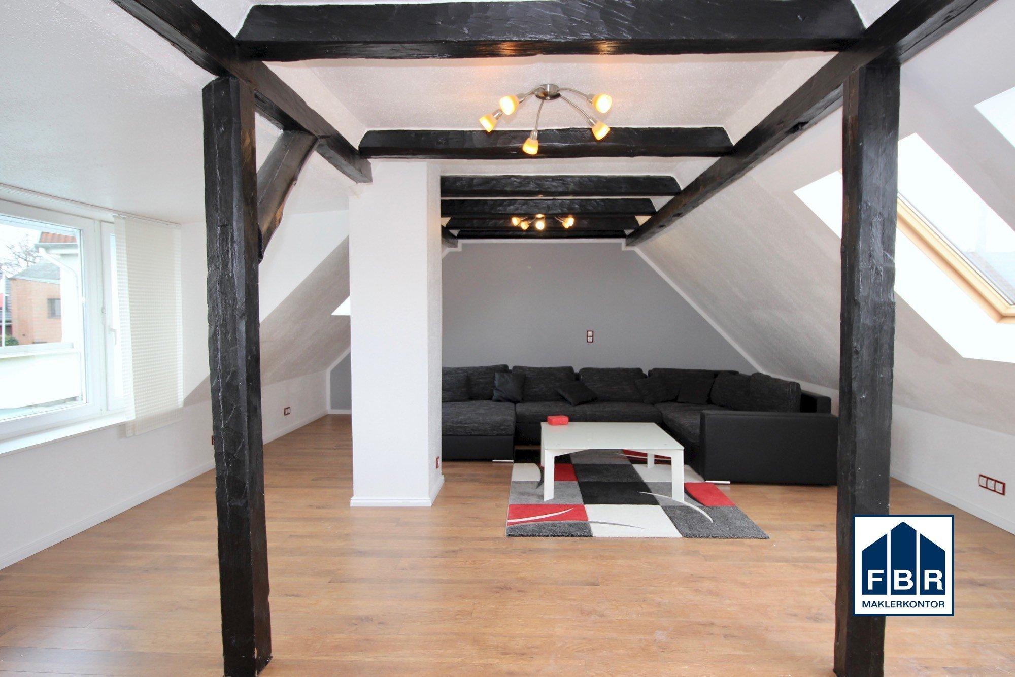 Wohnzimmer im Obergeschoss