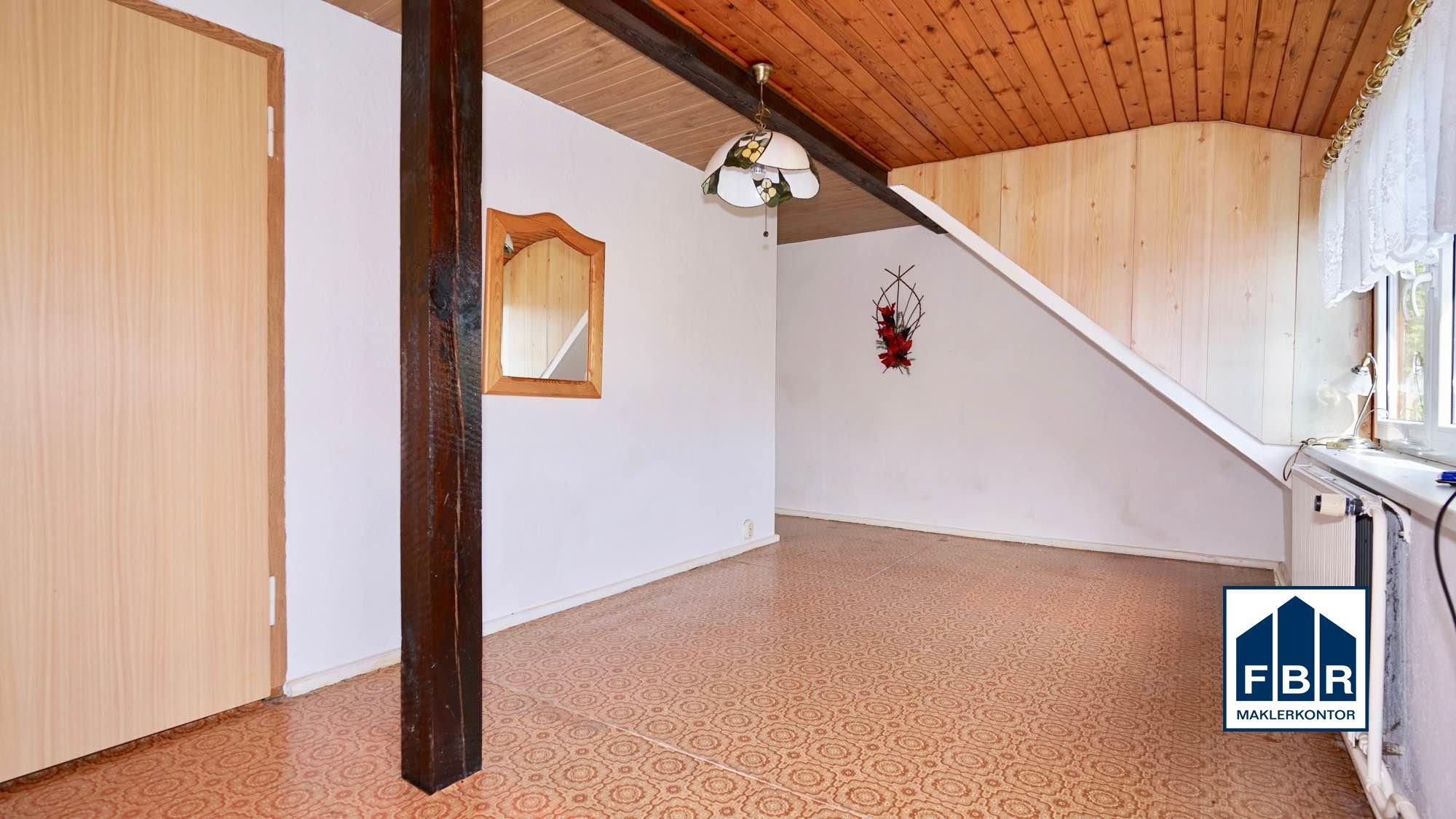 ausgebautes Zimmer im Dachboden