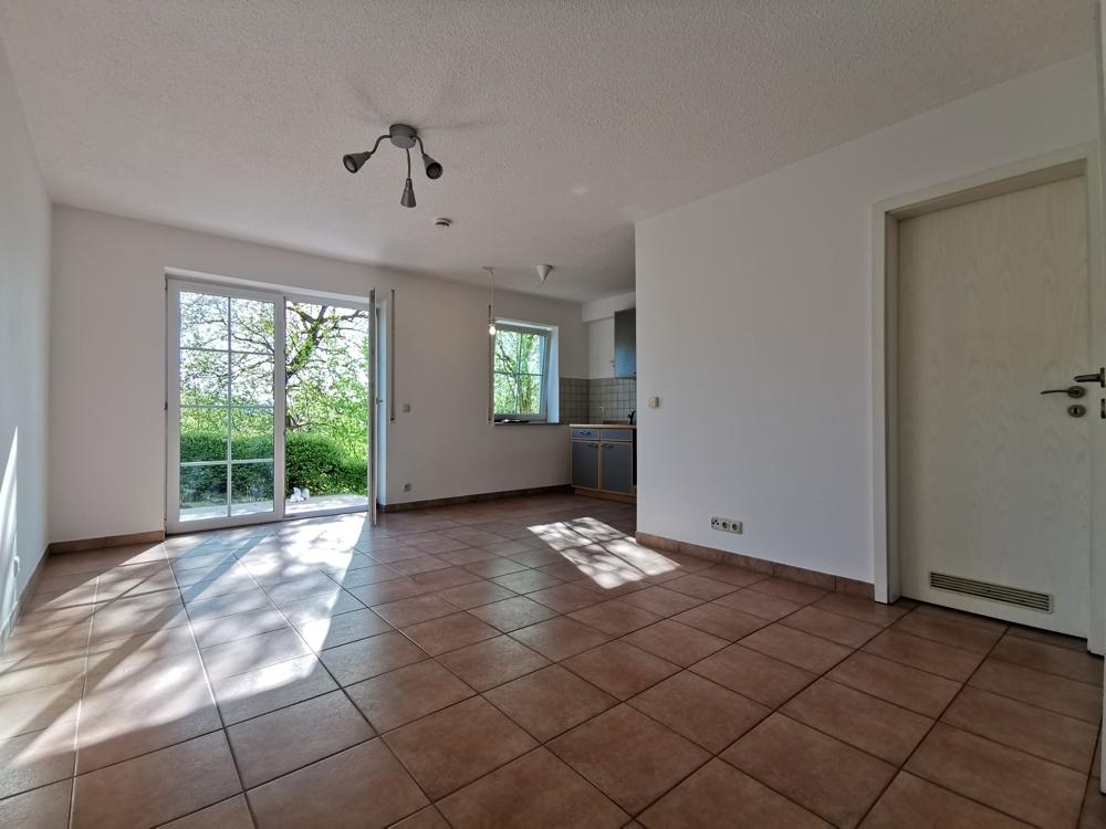 Zimmer mit Blick zur Küche