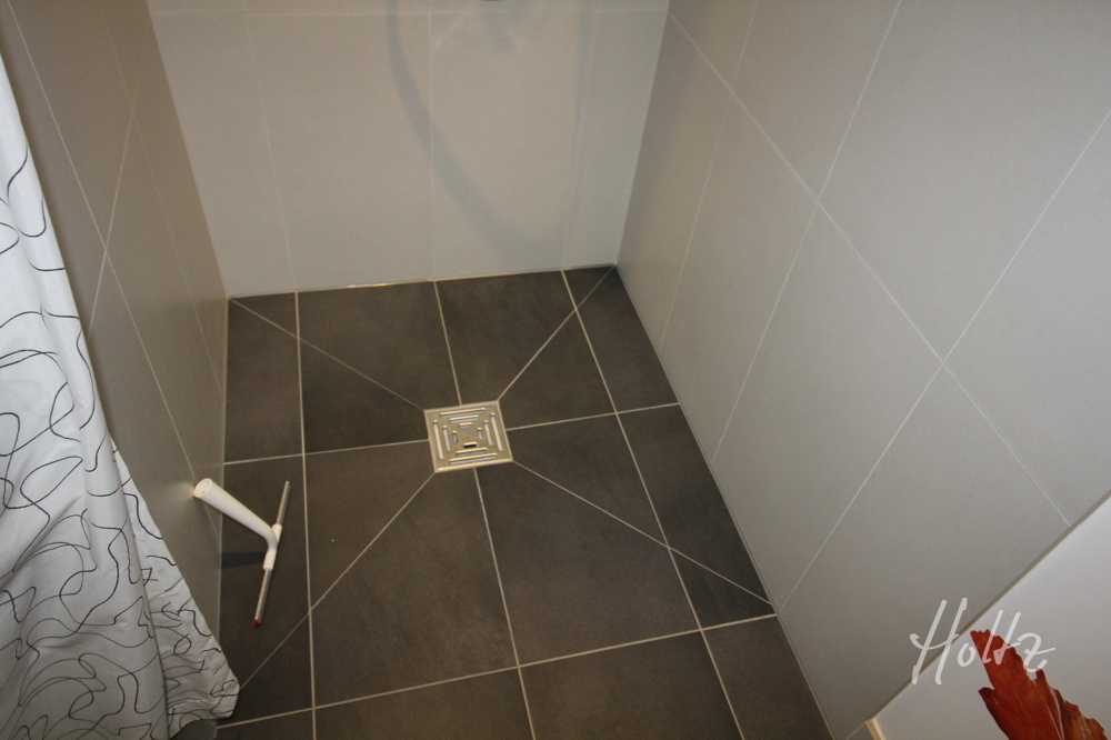Gäste-Dusche ebenerdig