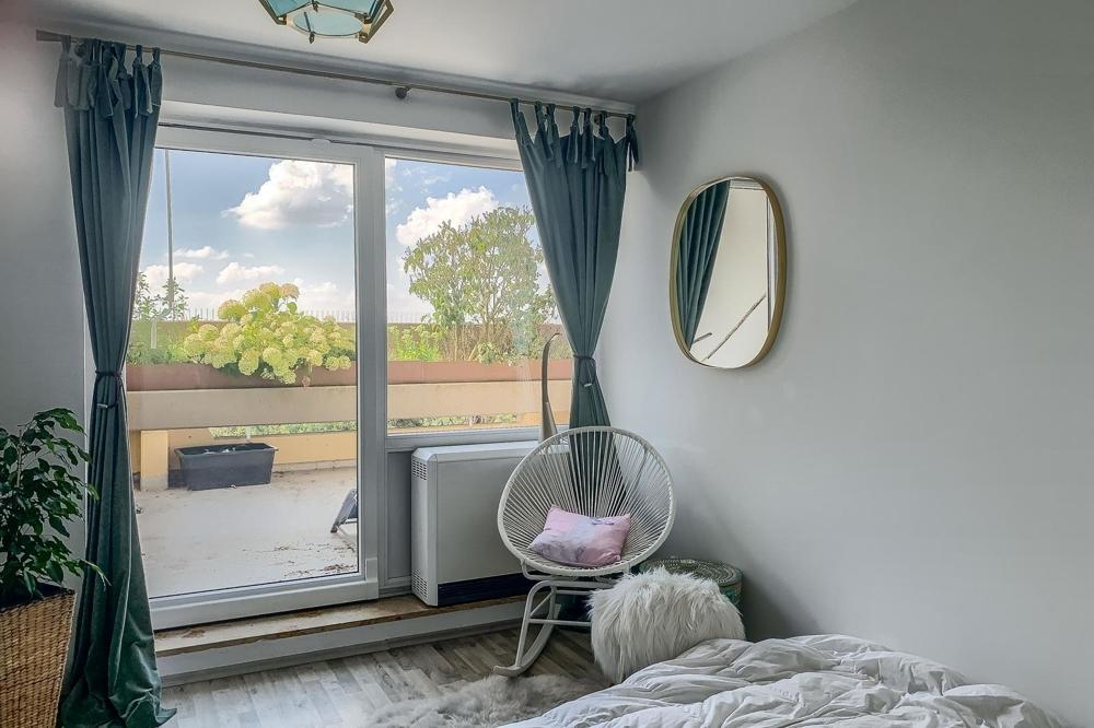 Blick aus Schlafzimmer