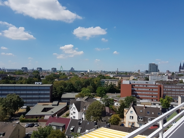 Ausblick Kölner Süden - Dom