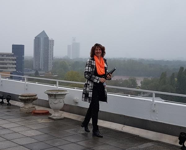 Ausblick TH - auch bei Regen schön
