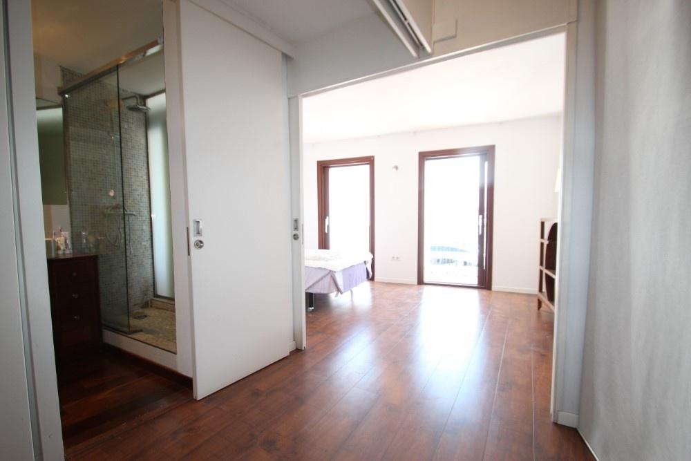Eingang Bad + Hauptschlafzimmer