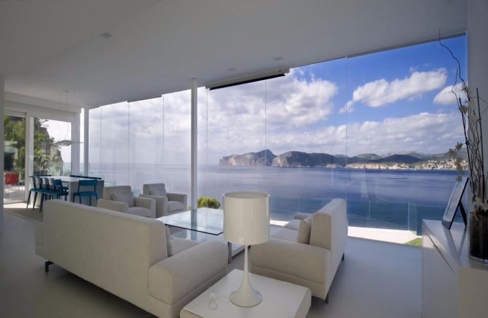Wohnraum mit Panorama
