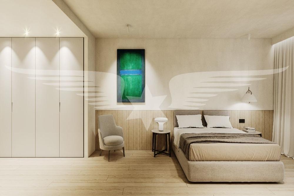 Visualisiertes Scghlafzimmer