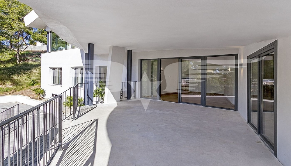 Überdachte Terrasse