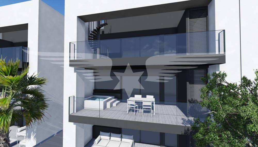 Visualisierte Terrasse 1. OG