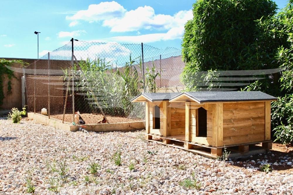Hühnerstall- HUndehütten