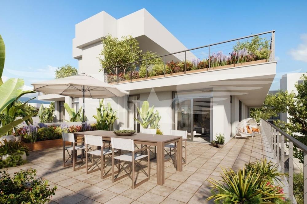 Visualisierte Terrasse