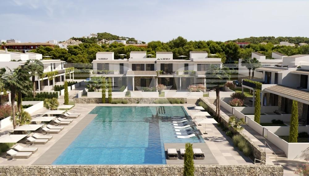 Visualisierter Wohnkomplex