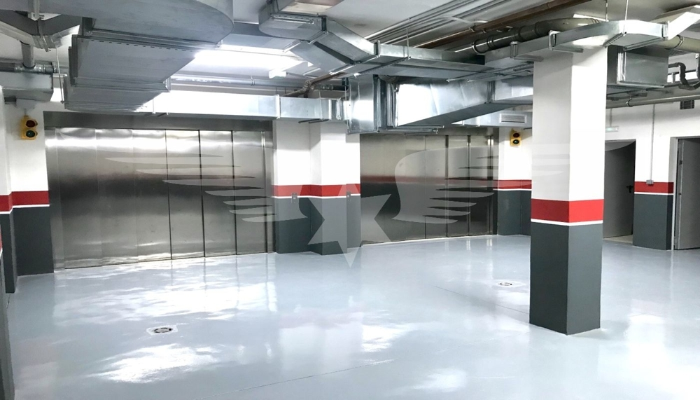 Aufzug Tiefgarage