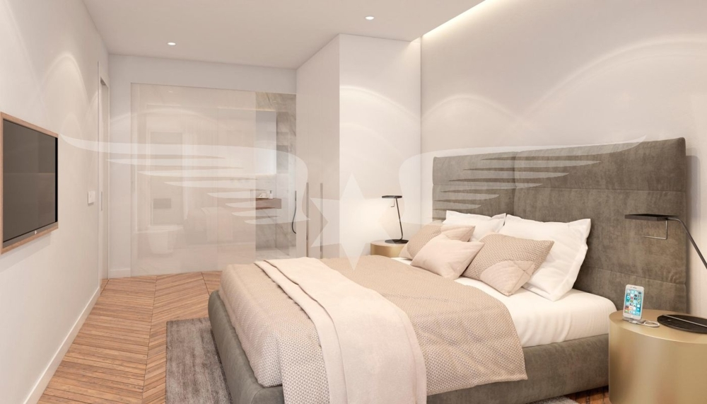 Visualisiertes Schlafzimmer