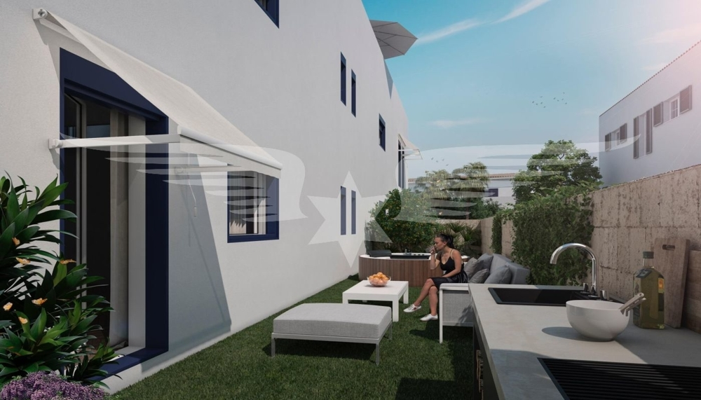 Visualisierter Garten