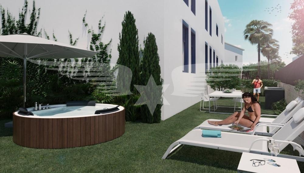 Visualisierte Gartenansicht