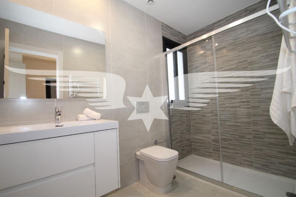 Beispiel Duschbad en Suite