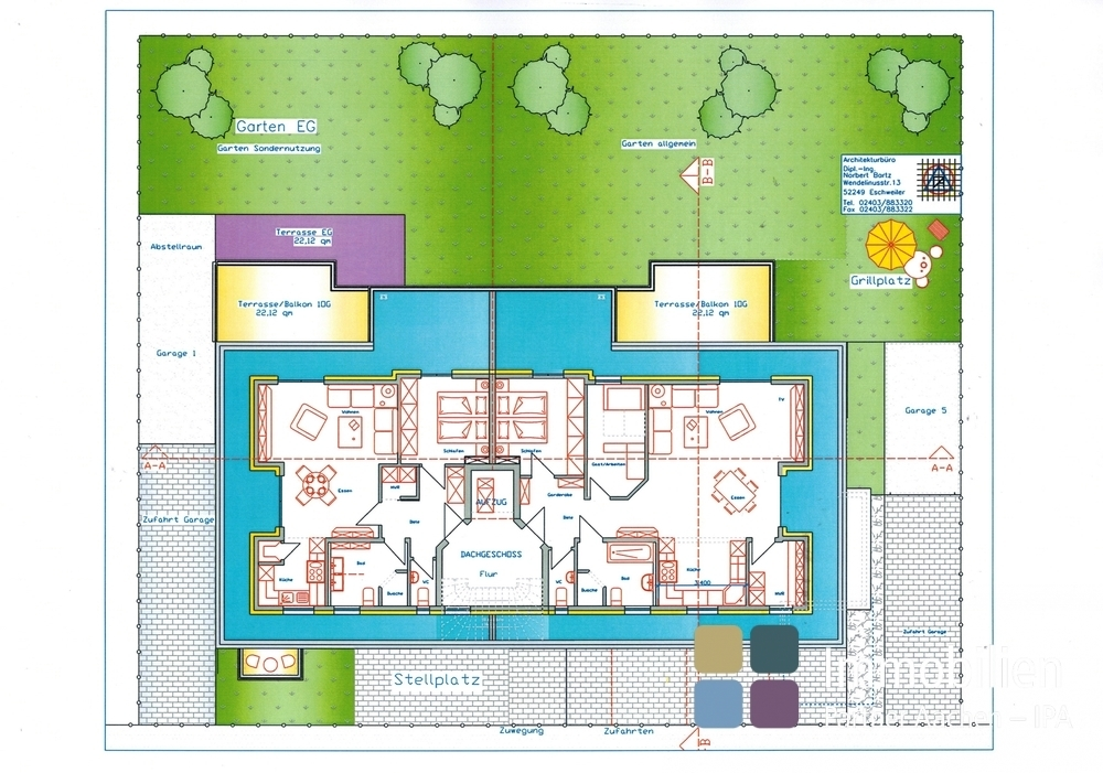 DG links 88 m²
