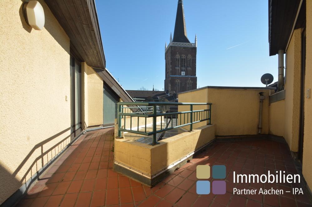 Seitlicher Balkon