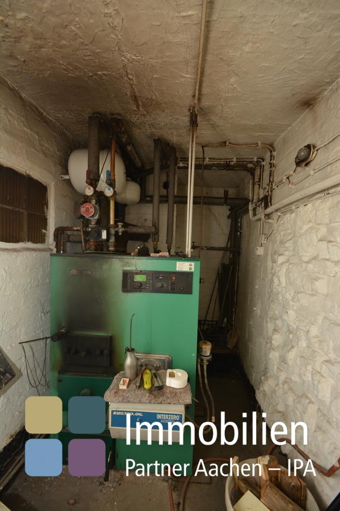 Öl-Heizung mit Warmwasser