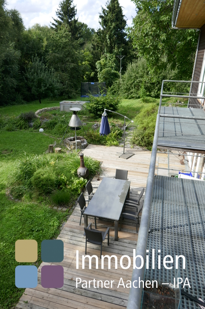Balkone gartenseits obere Wohnebene - 03