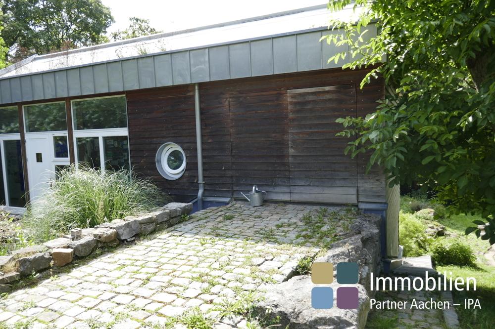 Garten und Vorratsraum
