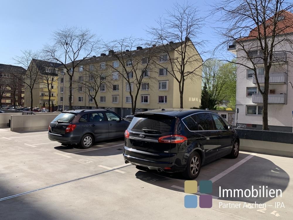 Blck zum Parkplatz