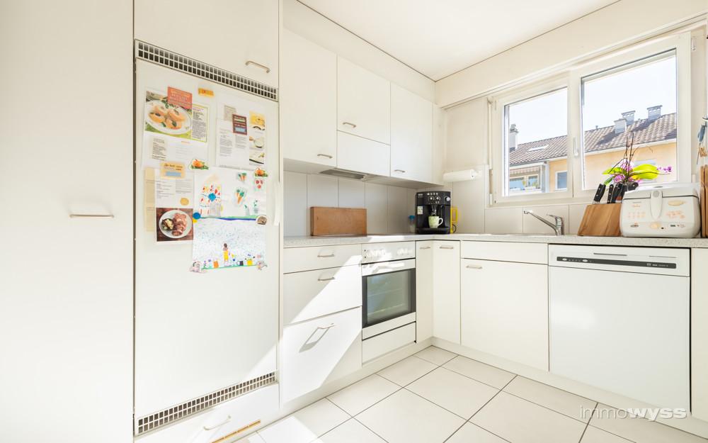 Geschlossene Küche