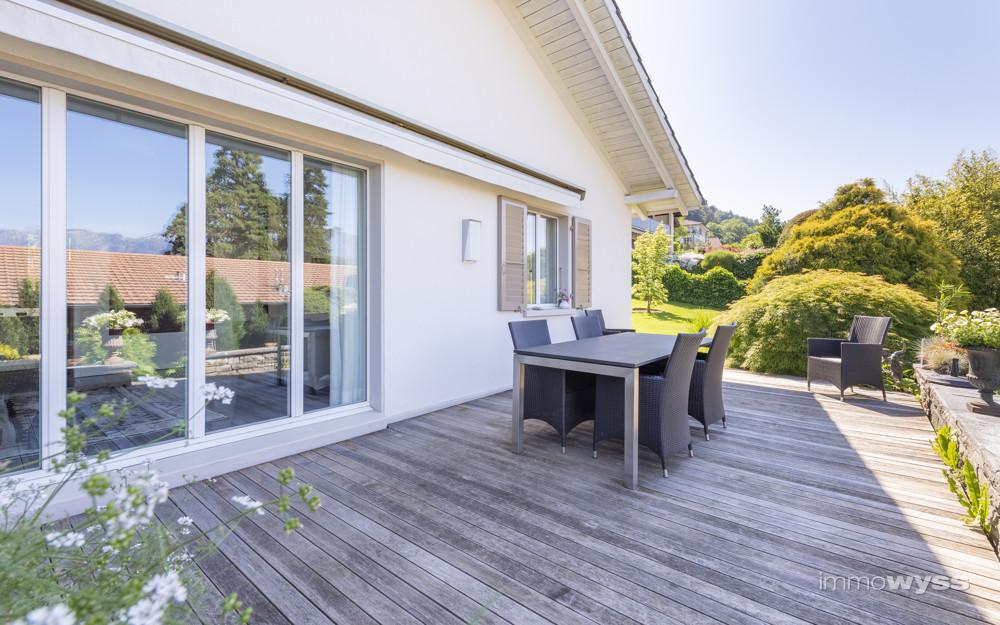 Terrasse Erdgeschoss