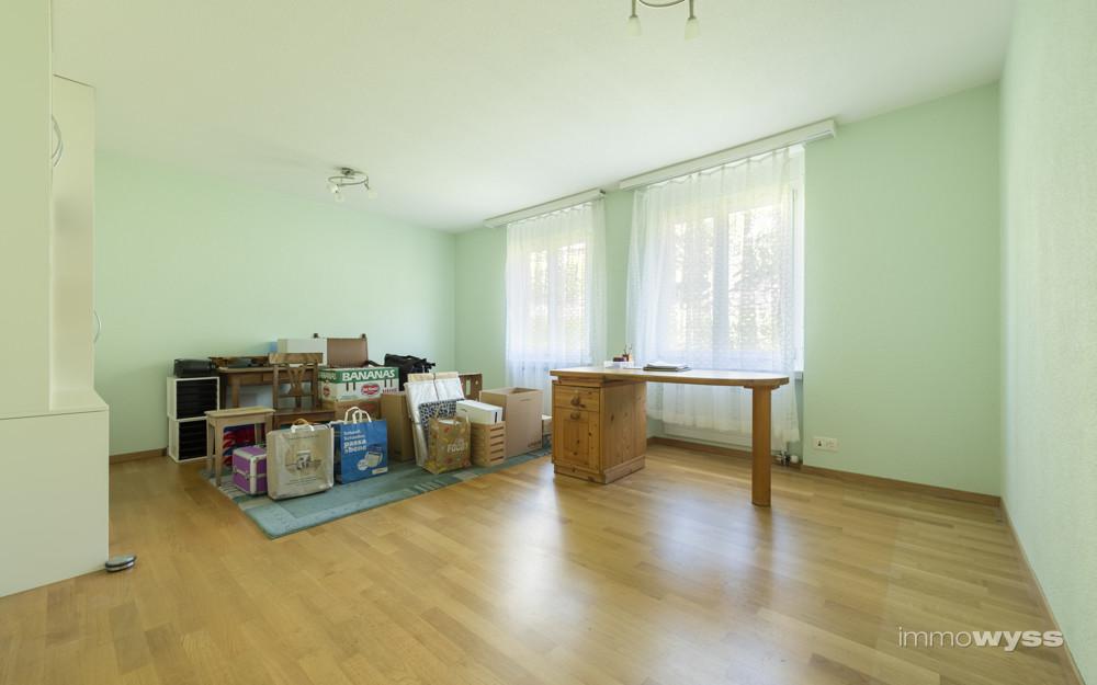 Zimmer welches unterteilt werden kann
