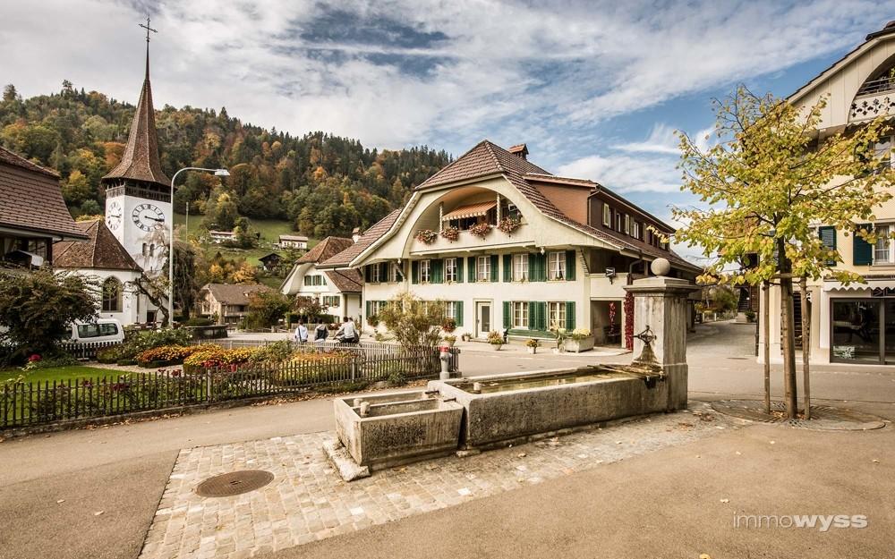 Summer-Garte_Dorfplatz Oberdiessbach