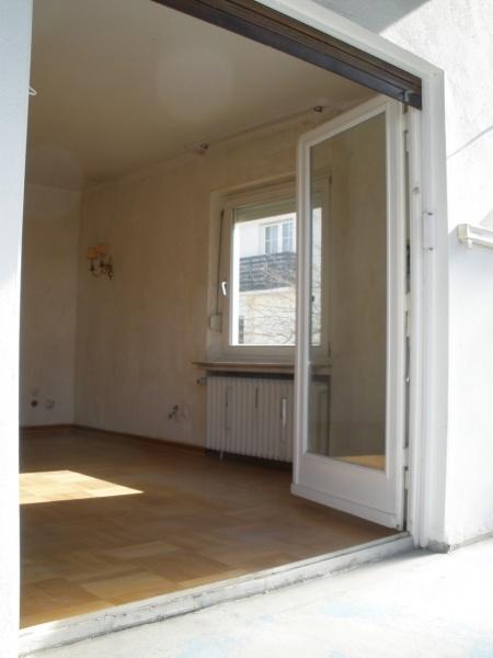 Vom Balkon ins Wohnzimmer