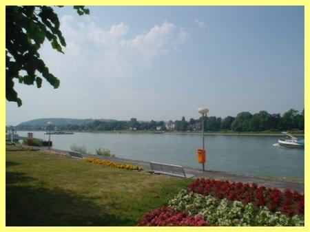 Noch einmal die Rheinpromenade