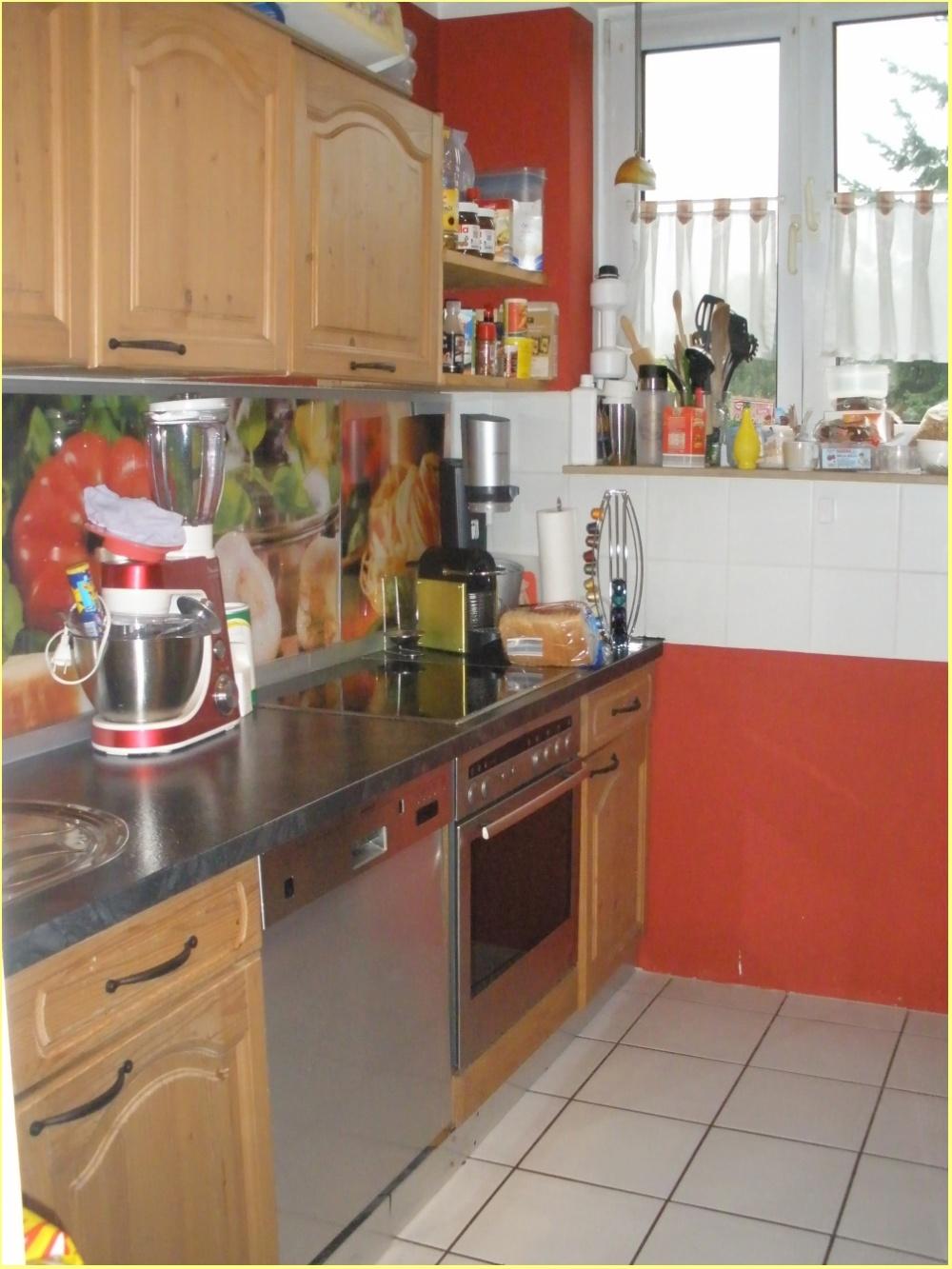 Blick in die Küche (Eigentum des Mieters)