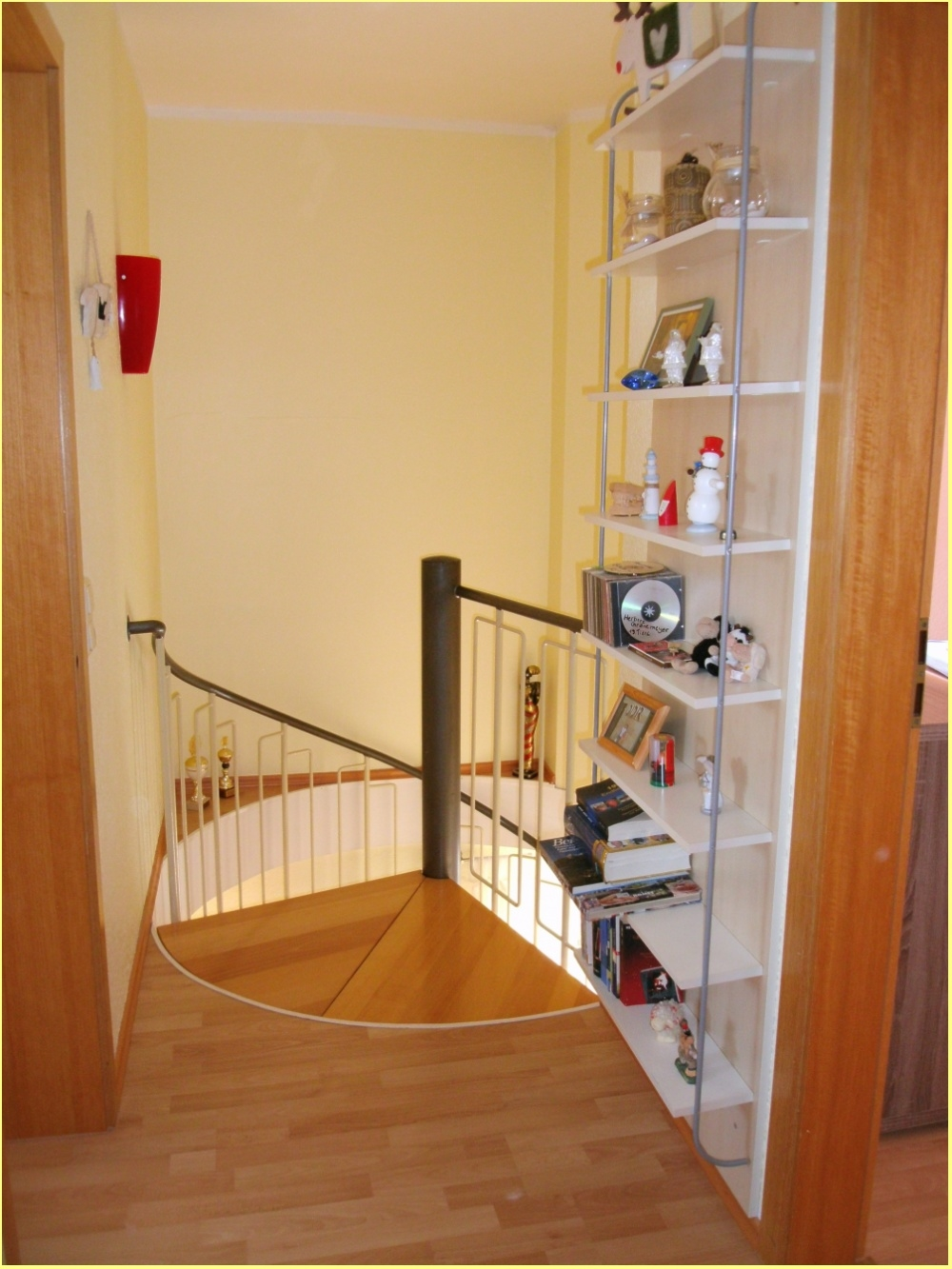 Wendeltreppe in der Wohnung