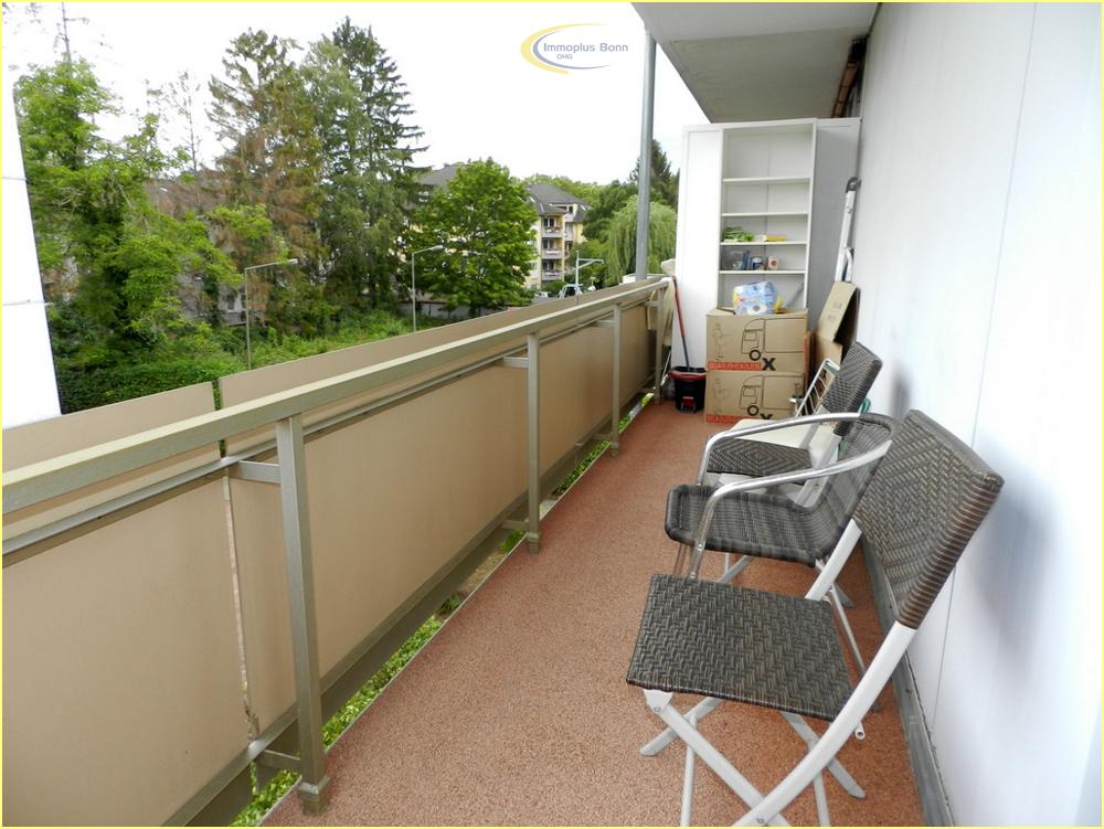 Balkon an der Seite