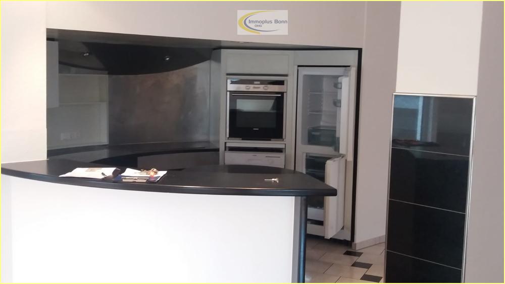 offener  Küchenbereich im Wohnraum
