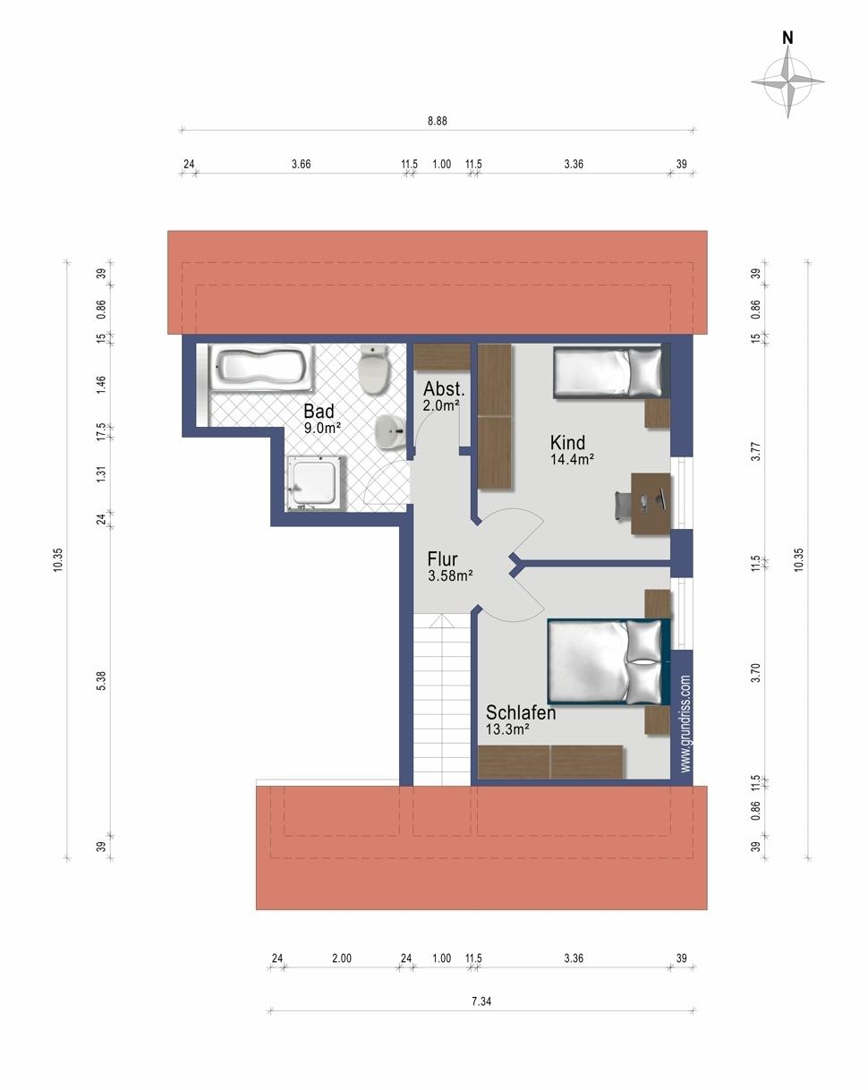 Wohnung 2 DG