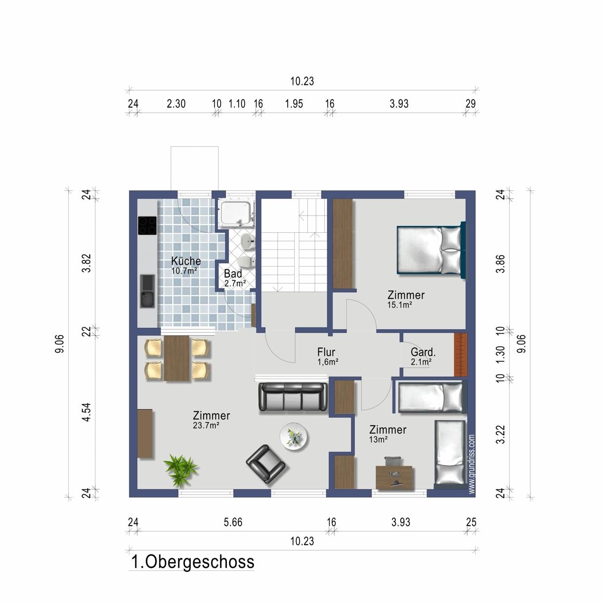 Wohnung im 1. Obergeschoss