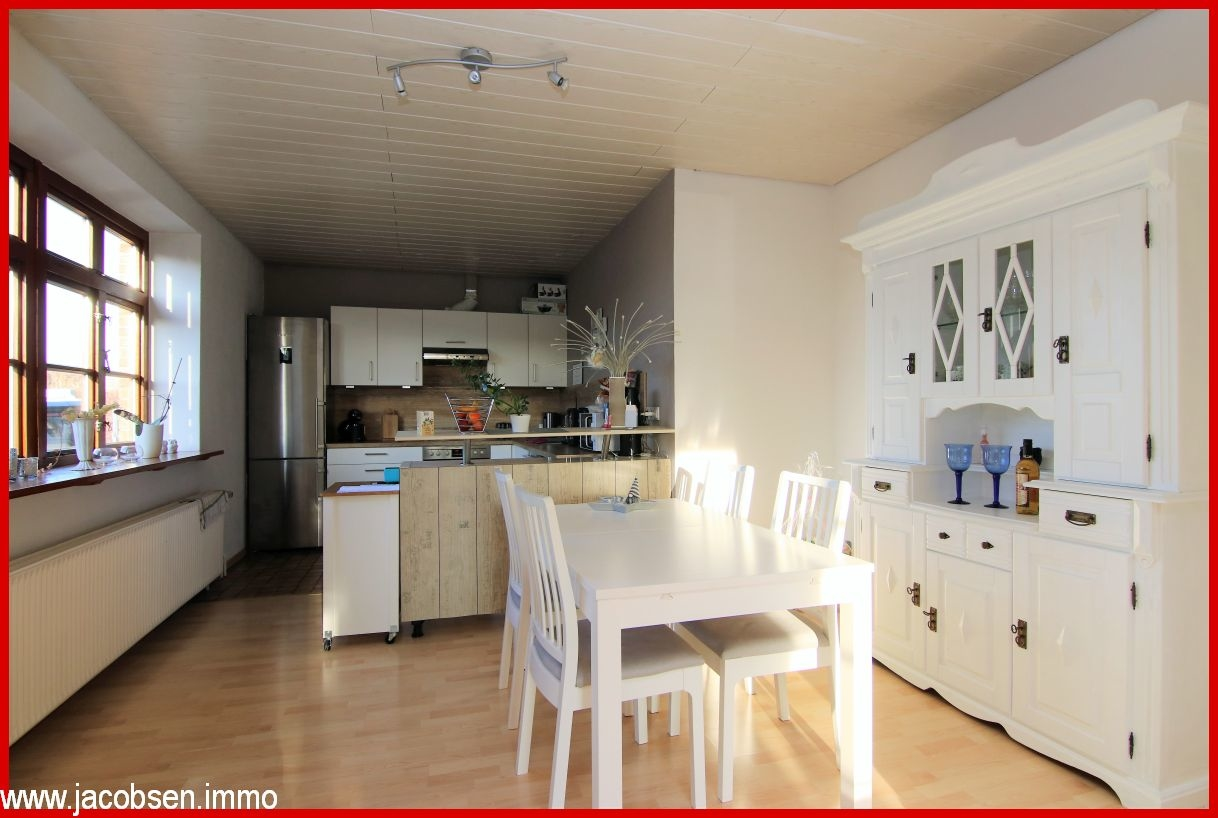 Essbereich mit Blick in die Küche WE 2
