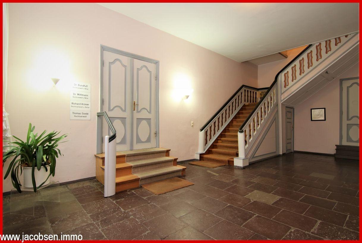 Treppenhaus im Erdgeschoss