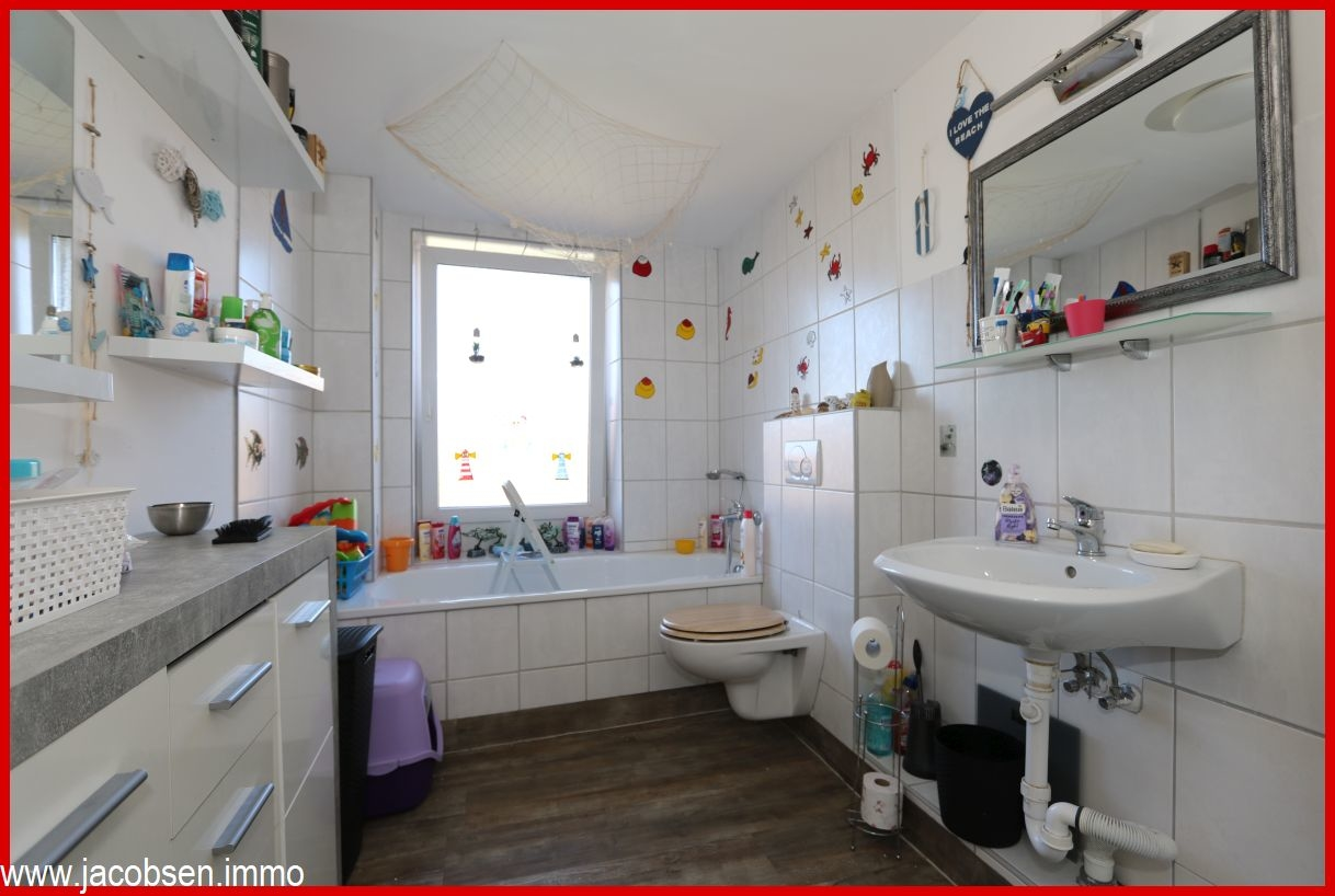 Bad mit Wanne Obergeschoss