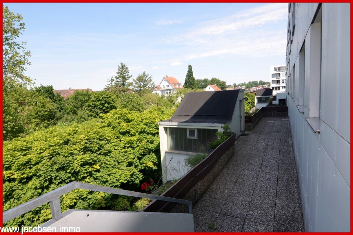 Zugang zu Treppenhaus II