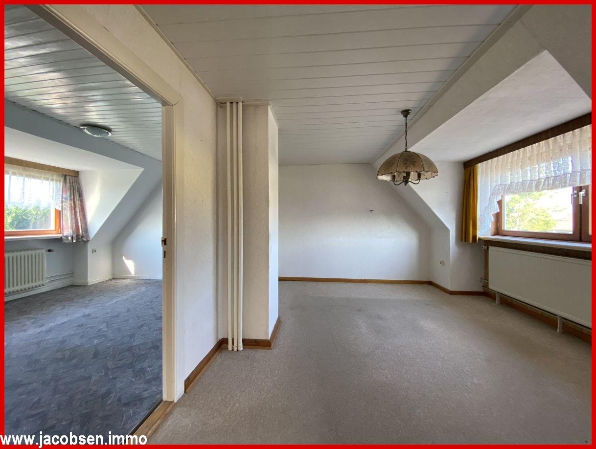 ELW Schlaf- und Kinderzimmer im Dachgeschoss