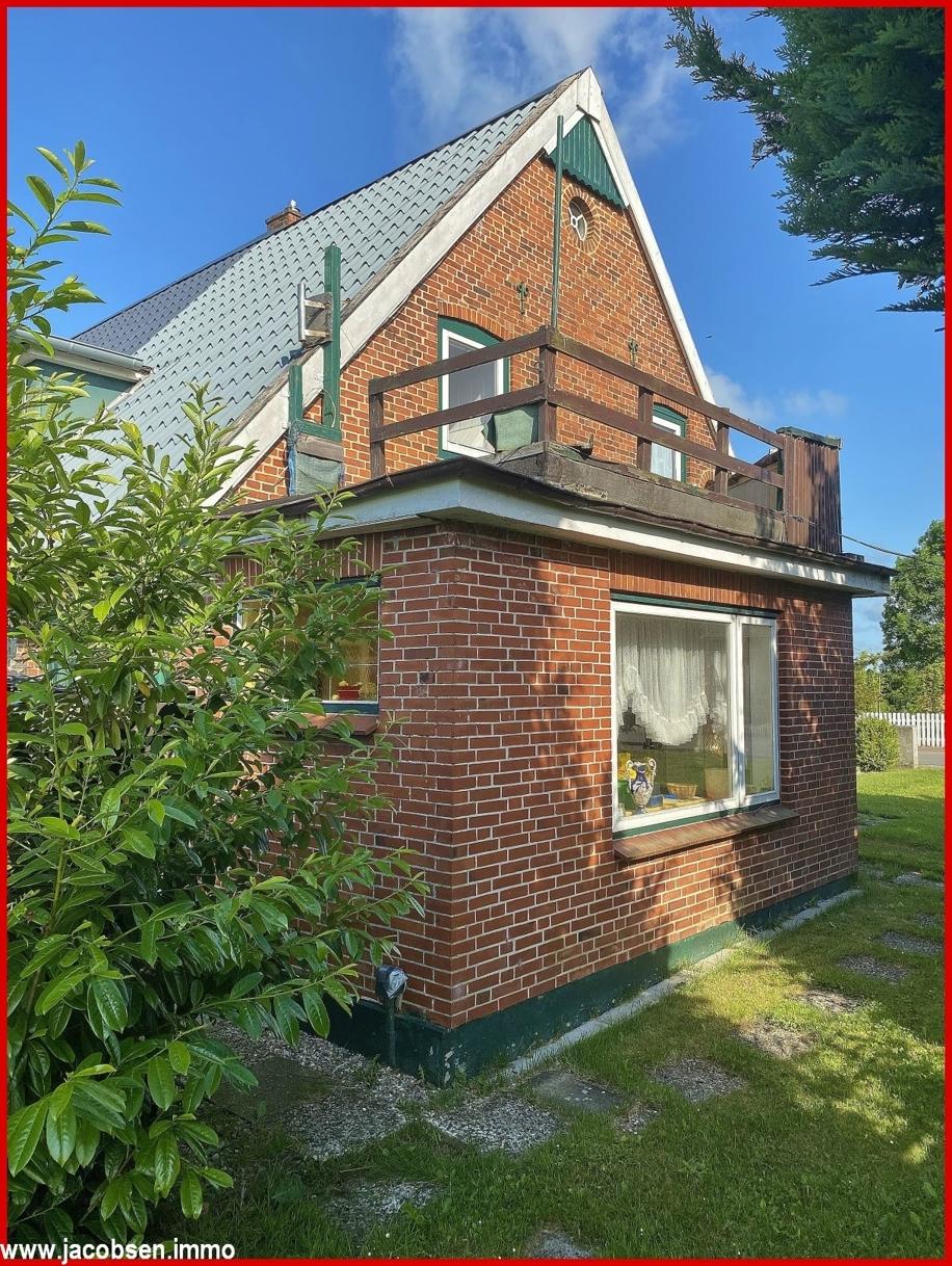 Windfang und Dachterrasse Einliegerwohnung