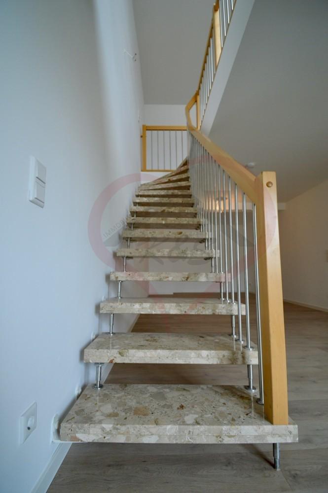 Treppe von Büro zu Studio