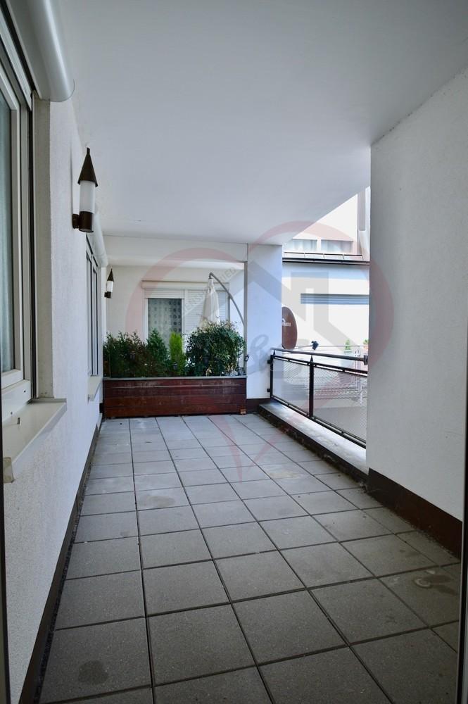 Balkon Sicht Schlafzimmer 1