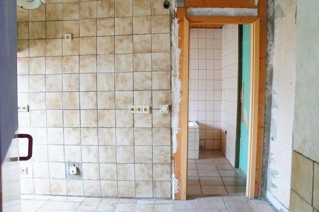 OG. Anschluss für Küche + Bad dahinter