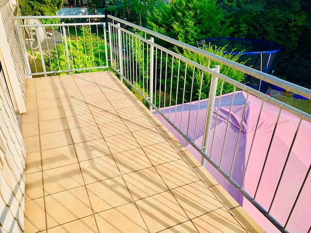 Balkon v. Schlaftzimmer Ansicht 2